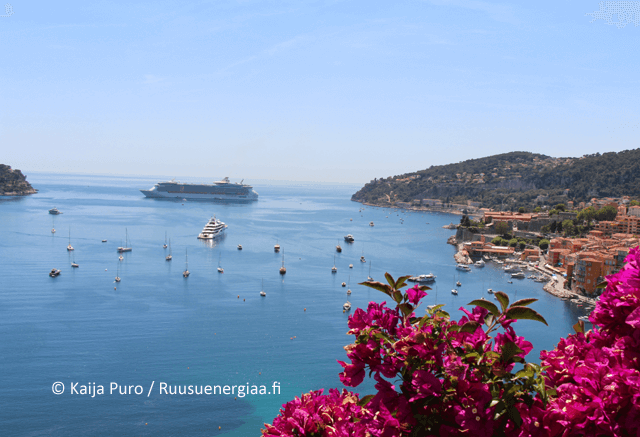 Ruusut Ranskan Rivieralla ruusuenergiaa.fi