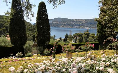 Ruusut Rivieralla, Villa Ephrussi, osa 2: Ruusutarha